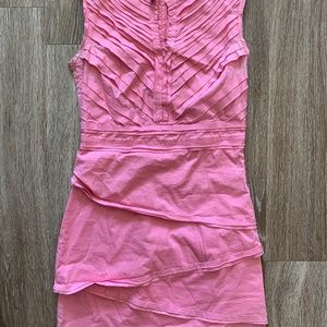 Pink BCBG Shift Dress